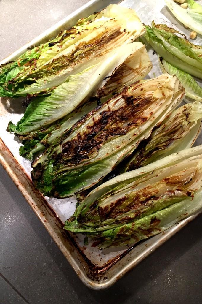 lettuce grilled
