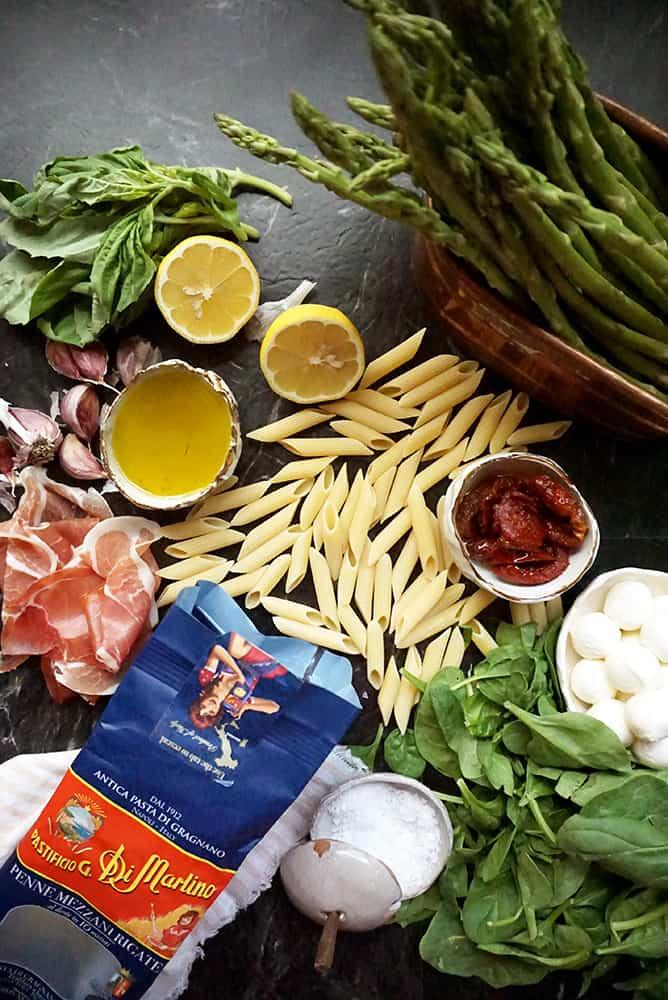 one pan pasta_lenaskitchen ingredients