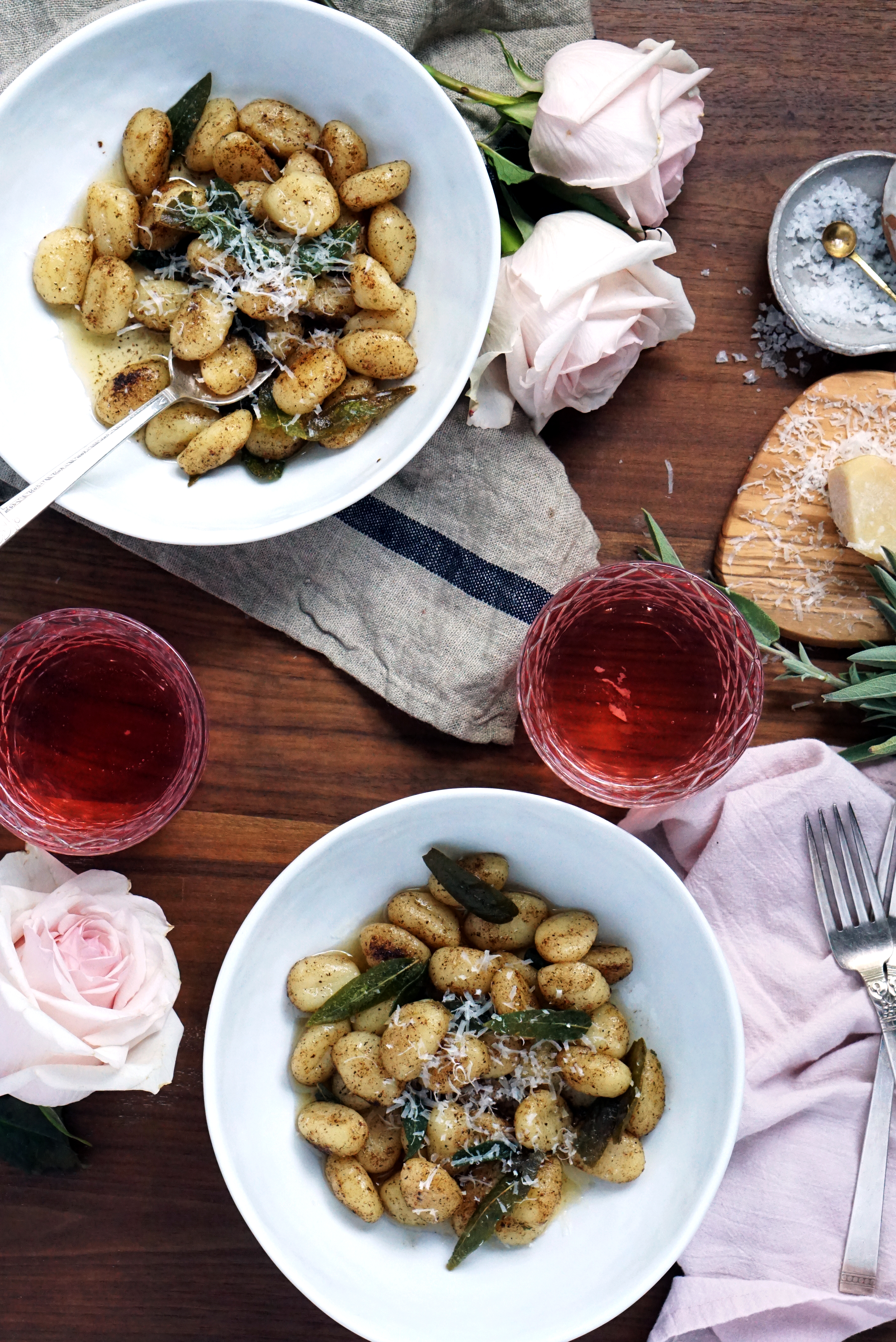 Easy Browned Butter & Sage Gnocchi