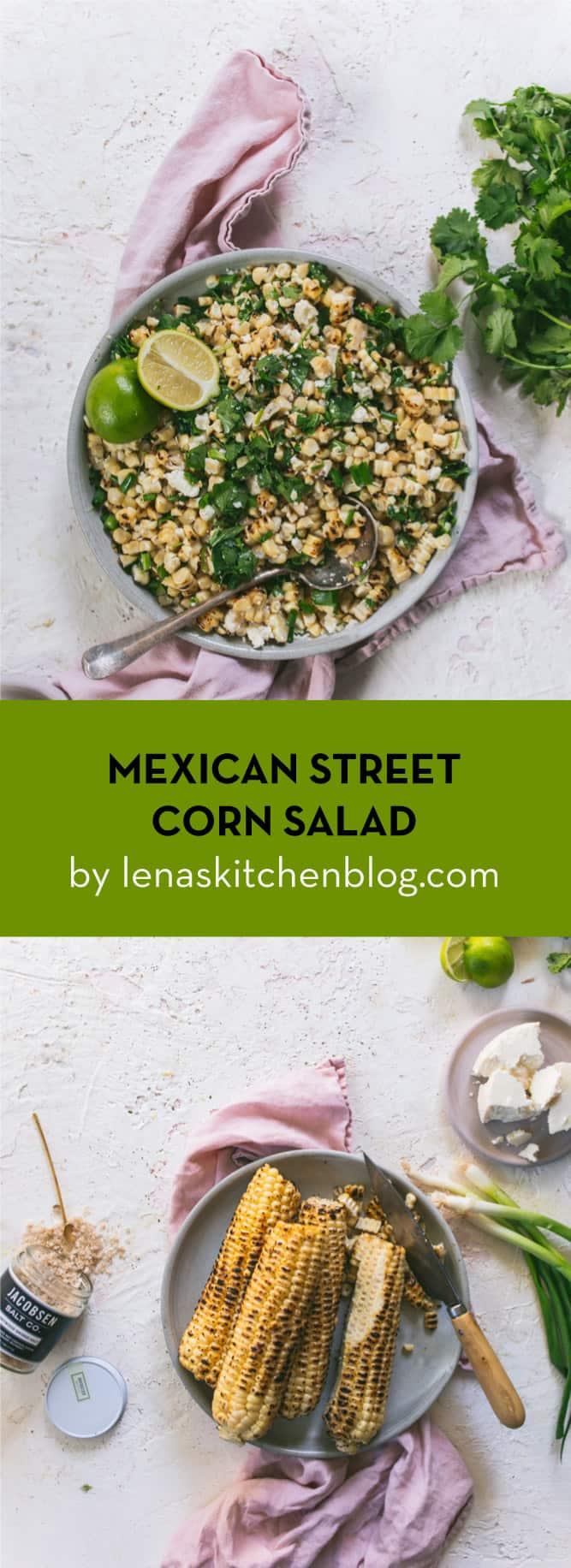 LENASKITCHEN MEXICAN STREET CORN SALAD
