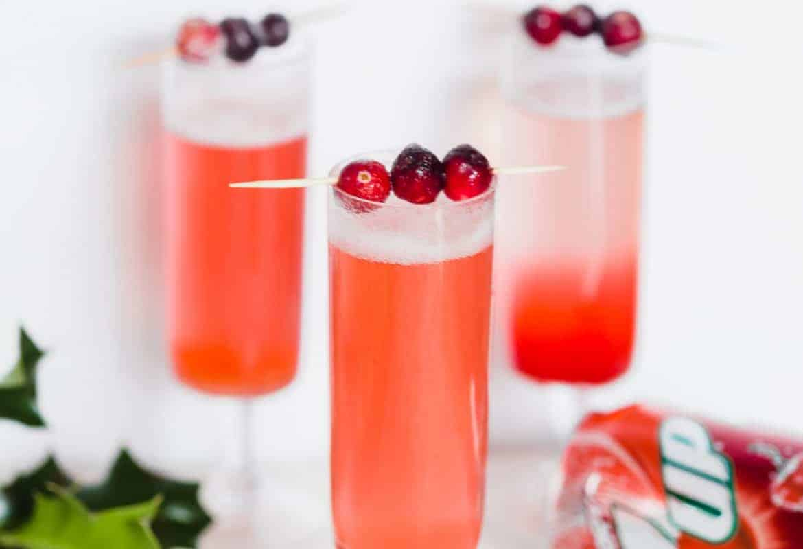 CRANBERRY FIZZ COCKTAIL